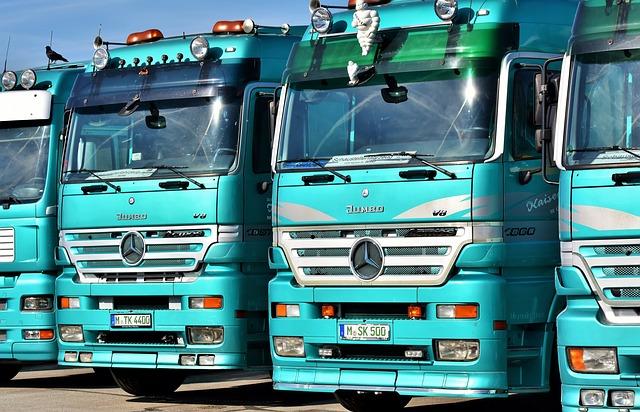 Silnik Diesel w samochodach ciężarowych